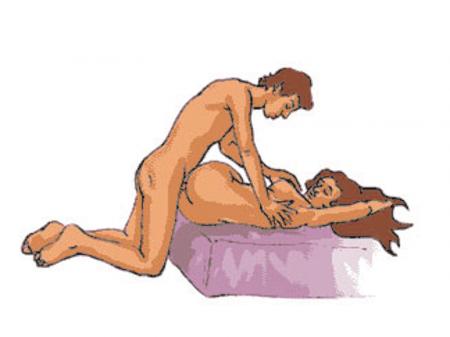 Postura sexual el tornillo
