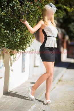 La escort española mas guapa de Madrid: Cristina