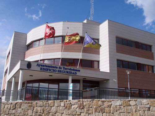 Edificio de seguridad en Torrelodones