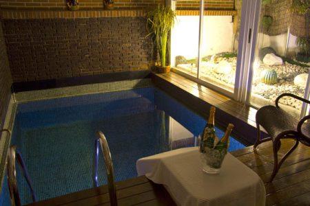 suite piscina