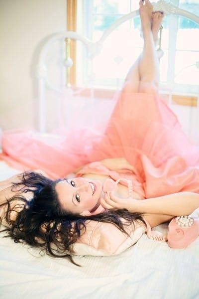 escort vestido rosa