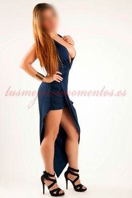 Blonde escort with big boobs in Madrid | Manuela