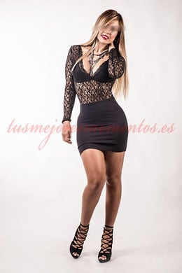 Blond bisexual escort in Madrid | Fátima