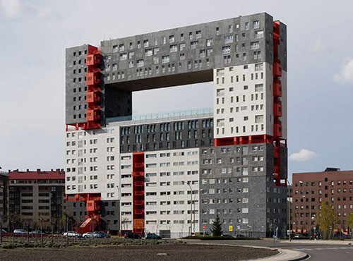 Edificio en Rivas