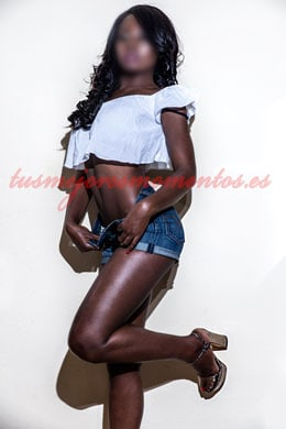 Black luxury escort in Madrid | Agatha