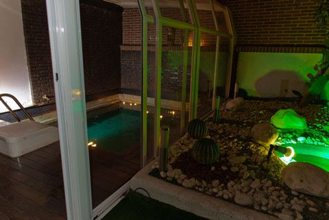 Suite con piscina privada