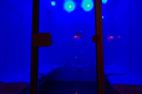 suite de lujo con sauna