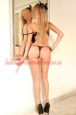 Blonde Brazilian escort in Madrid | Julia