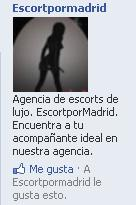 EscortporMadrid en Facebook