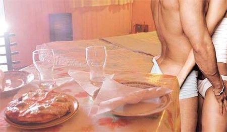 Sexo a la hora de comer