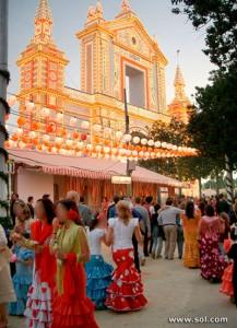 Feria de Abril de Sevilla, ideal para el trabajo de las escorts