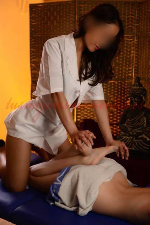 Mali, es una escort tailandesa en Madrid