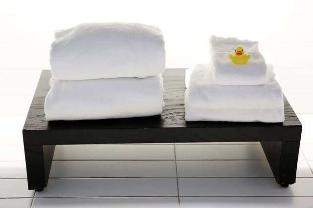 Apartamento escort con toallas limpias