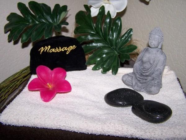 Masaje sensual elementos