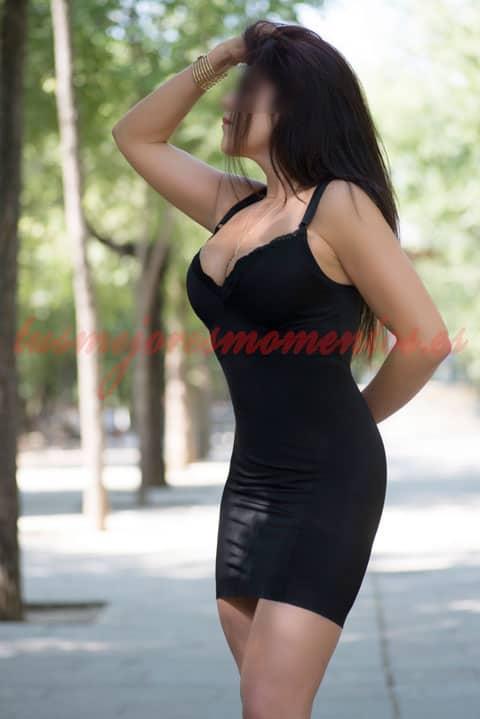 Adeline, una escort madura en Madrid
