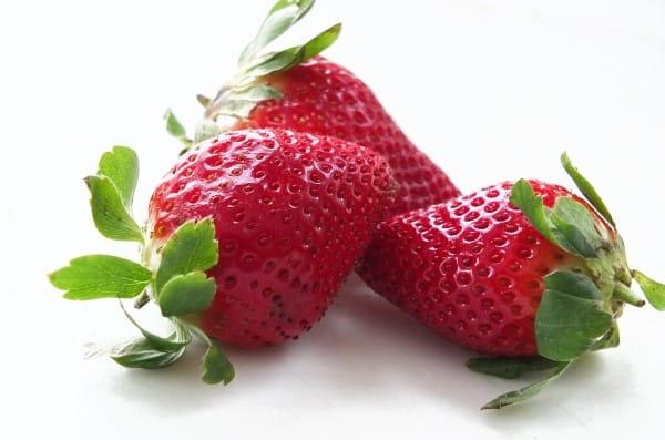 fresas afrodisiaco