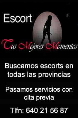 Buscamos escorts en todas las provincias | Escorts