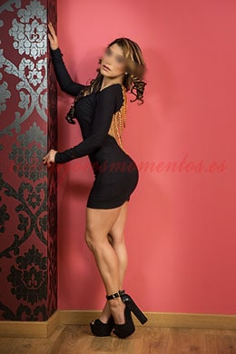 Escort for couples in Madrid | Valeria