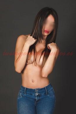 una escort con cuerpo de modelo. Elena