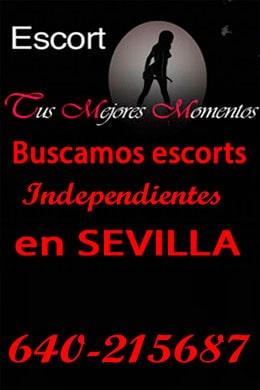 Trabaja como escort | Buscamos escorts en Sevilla