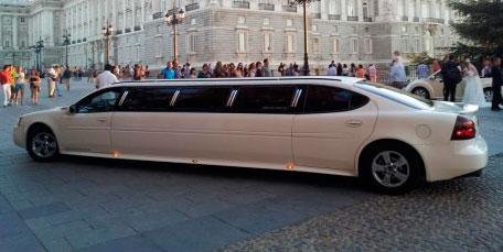 streptease de escort o gigoló en una limusina de lujo
