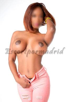 Black escort in Madrid | Aroa