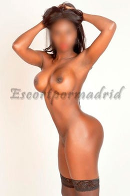 Black luxury escort in Seville | Silvia