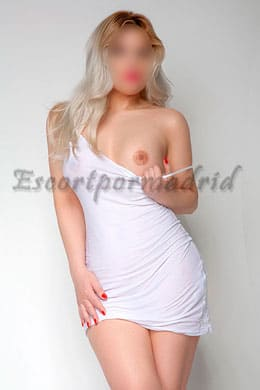 Blonde Spanish escort in Madrid | Eva