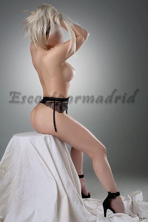 Escort de lujo española desnuda. Eva