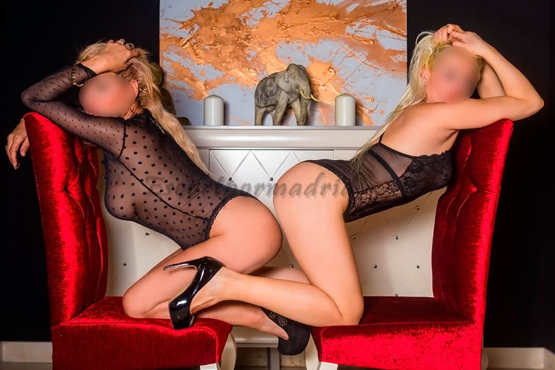 Dos escorts de lujo bisexuales. Gala y Rosa
