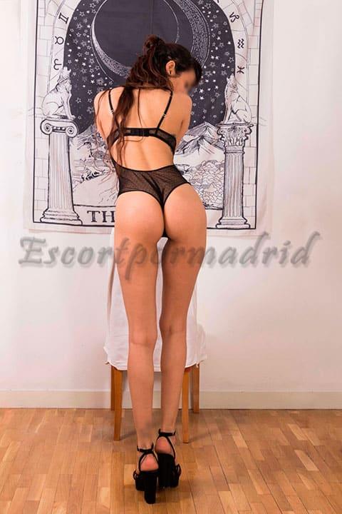 Acompaánte en Madrid experta en sexo. Yasmina