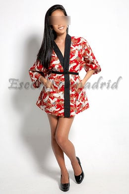 Escort oriental filipina en Madrid | Emy
