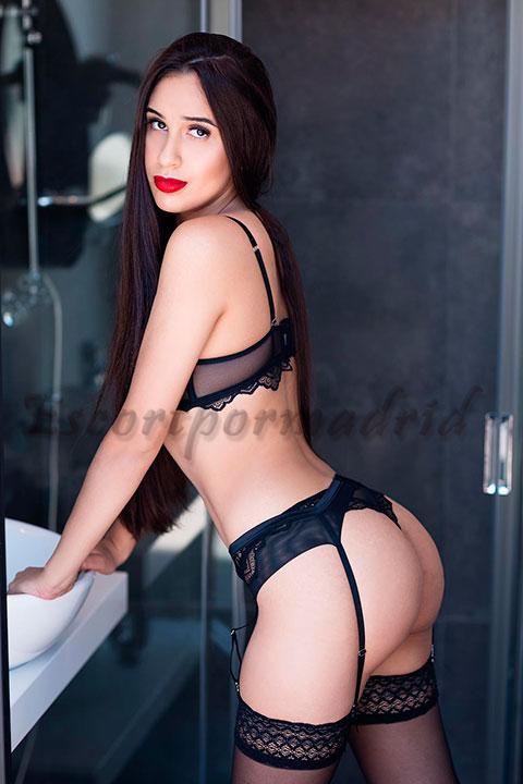 Acompañante de lujo bisexual brasileña. Roberta