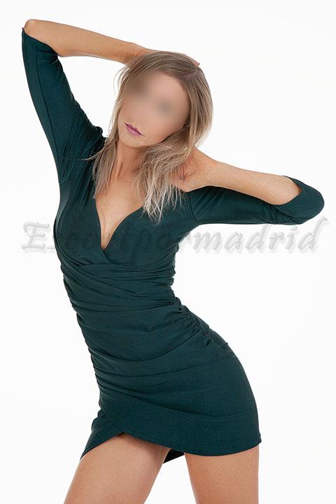 Española rubia de lujo en Madrid. Alicia